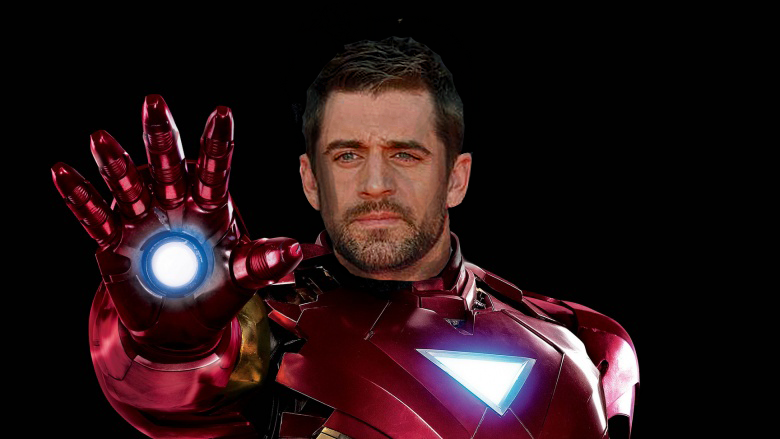aaron rodgers iron man